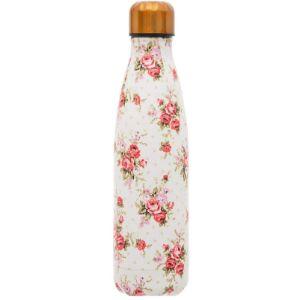 Sass Belle Rose Gold Stainless Steel Water Bottle