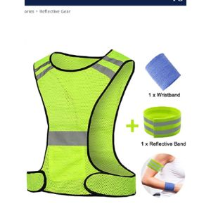 Rainyear Make Life Easier Reflective Safety Vest Running