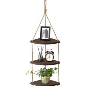 Mkouo Corner Shelf Hanging