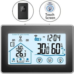 Tioodre Outdoor Led Thermometer