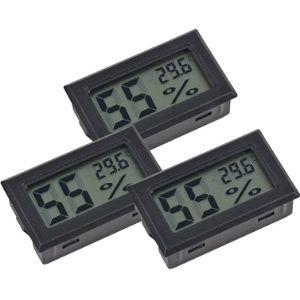Inrigorous Thermometer Humidity Meter