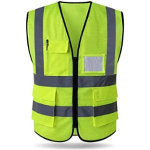 Hycoprot High Visibility Orange Safety Vest
