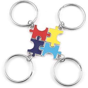 Jovivi Jigsaw Keyrings