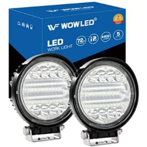 Wowled Led Work Light Round
