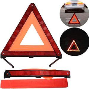 Orange Light Triangle Warning