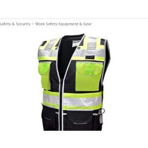 Vero1992 Engineer Safety Vest