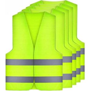 Amacoam Green High Visibility Vest
