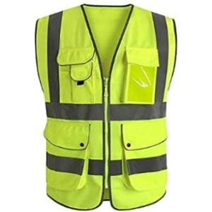 Nrpfell High Visibility Vest With Zipper