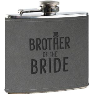 The Leather Bound Hip Flask