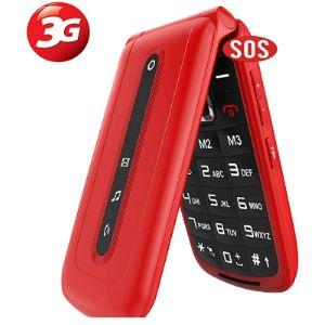 Ukuu Flip Type Mobile Phone
