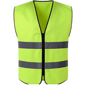 Uiehbcv High Visibility Vest With Zipper