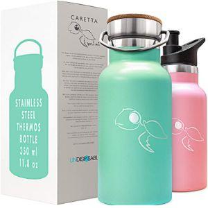 Undisposabl Pink Stainless Steel Water Bottle