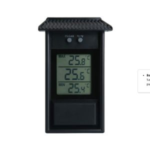 Ourleeme Digital Greenhouse Max Min Thermometer