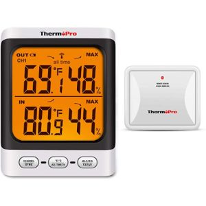 Visit The Thermopro Store Indoor Large Display Outdoor Thermometer
