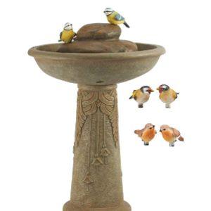 Serenity Paint Bird Bath