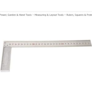 Hyuduo Aluminum Straight Edge Ruler