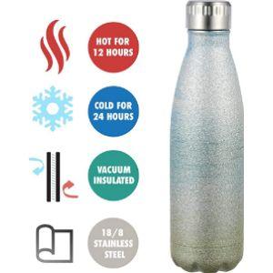 Olyee Glitter Water Bottle