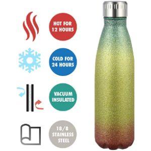 Olyee Glitter Drink Bottle