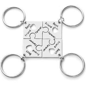 Jovivi S Jigsaw Keyrings
