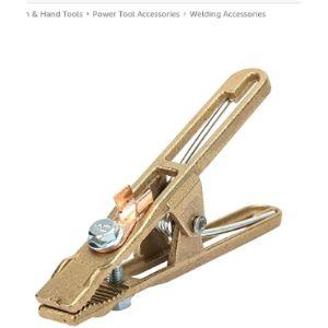 Ftvogue Welding Earth Clamp Brass