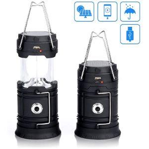 Maxesla Solar Rechargeable Led Lantern