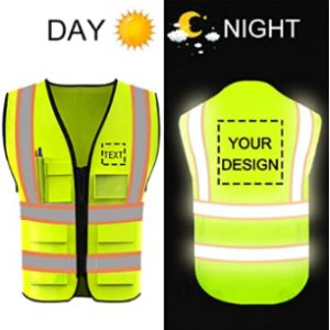 Yoweshop Green High Visibility Vest