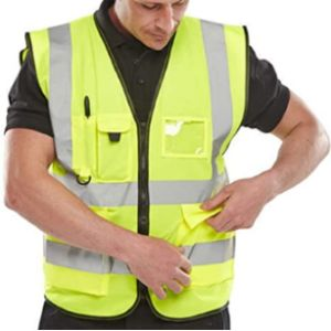 Visit The Expert Workwear Store Class 3 High Visibility Vest