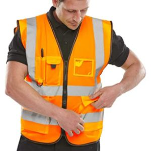 Visit The Expert Workwear Store Image Safety Vest