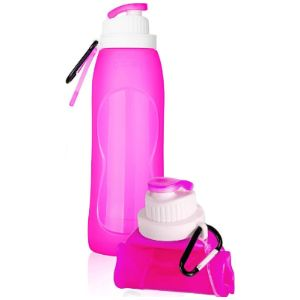 3 Data Collapsible Water Bottle Silicone