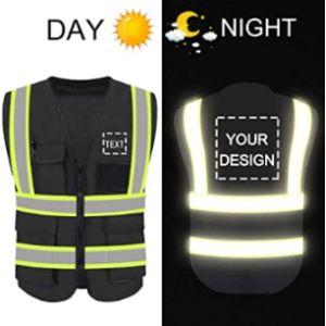 Yoweshop Black High Visibility Vest