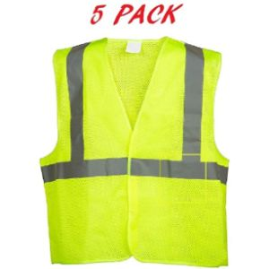 Just In Trend Safety Vest Mesh Fabric