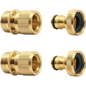 Ct Quick Connect Brass Garden Hose