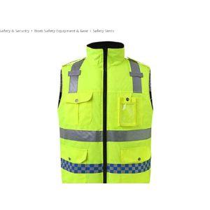 Asnvvbhz Reflective Vest Hunting Safety Vest