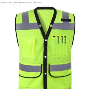 Safety Vests Safety Vest Mesh Fabric