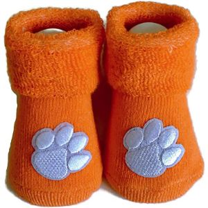Clemson Tigers Baby Paw Sock