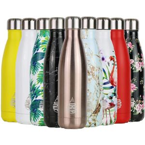 Full Drop St Rose Gold Stainless Steel Water Bottle