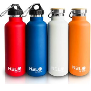 Nelo By Idoz Double Walled Stainless Steel Water Bottles