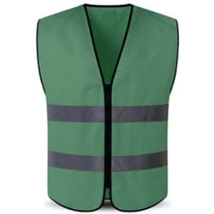 Hycoprot Dark Green Safety Vest