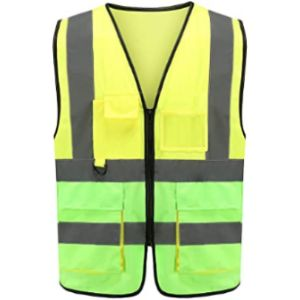 Visit The Aykrm Store Green High Visibility Vest