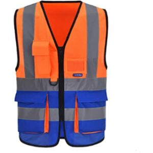 Visit The Aykrm Store High Visibility Orange Safety Vest