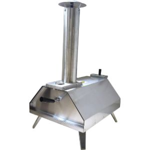 Master Bbq Stainless Steel Outdoor Pizza Oven