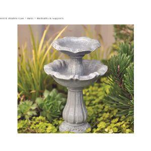 Fiddlehead Fairy Gardens Fairy Garden Bird Bath