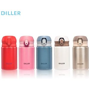 Diller Plastic Insulated Water Bottle