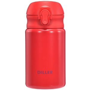 Diller Small Stainless Steel Water Bottle