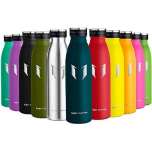Super Sparrow Comparison Stainless Steel Water Bottle