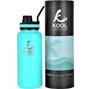 Kool Lagoon 1L Stainless Steel Water Bottle