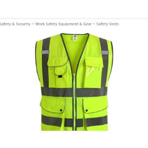 Jksafety Ansi Class 2 Safety Vest