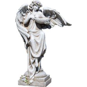 Roman Angel Bird Bath