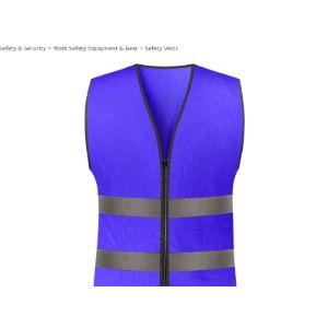 Liulu Purple Safety Vest
