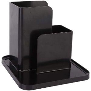Duokon Black Remote Control Holder